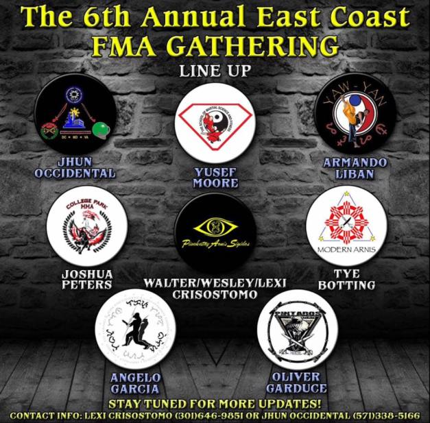 6thEastCoastFMA_Gathering_instructors_lineup