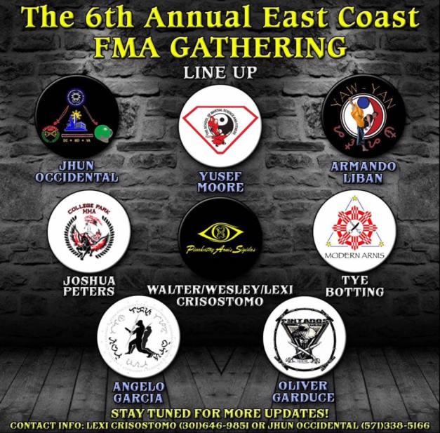 6thEastCoastFMA_Gathering_instructors_lineup